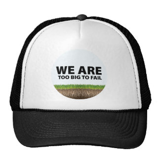 WE ARE Too Big To Fail - Occupy Wall Street Design Trucker Hat