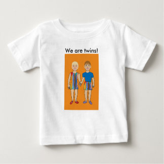 We are Twins! Baby T-Shirt