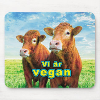 We are vegan mouse pad