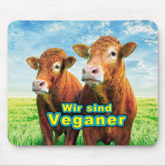 We are Veganer Mouse Pad