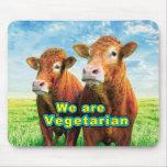 We are Vegetarian Mousepads