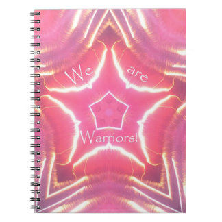 """""""We Are Warriors"""" Breast Cancer Awareness Journal"""