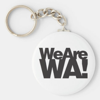We Are Washington Keychain