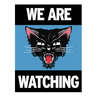 We Are Watch Postcard