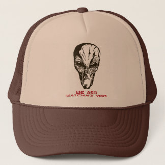 We Are Watching You by CaffeineBlitz Trucker Hat