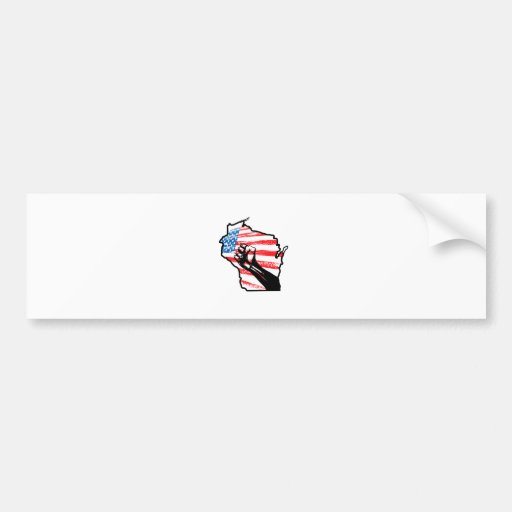 We are Wisconsin Bumper Stickers