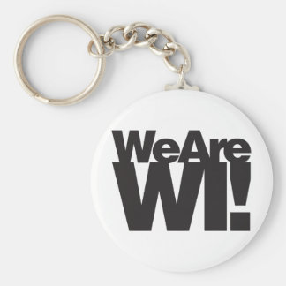 We Are Wisconsin Keychain