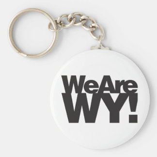 We Are Wyoming Keychain