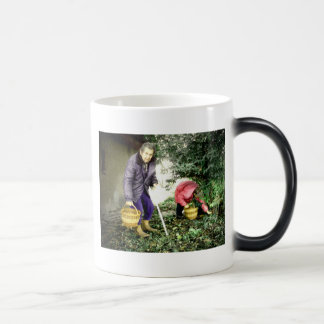 We are young forever magic mug