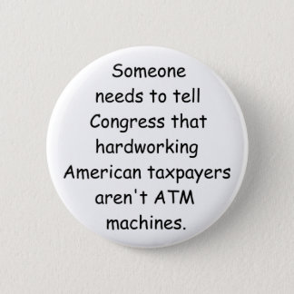 We Aren't  ATMs button