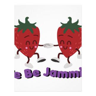 We Be Jammin Letterhead