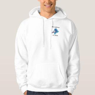 we believe in ufos hoodie