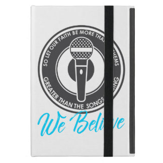 We Believe iPad Case