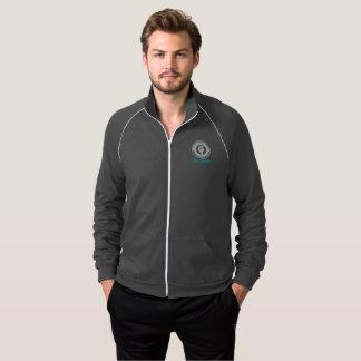 We Believe Men's Dark Zip Track Jacket