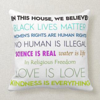 We Believe: Pillow
