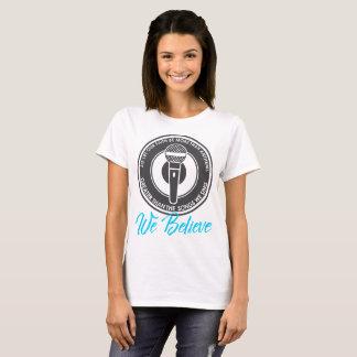 We Believe Women's Basic T-Shirt