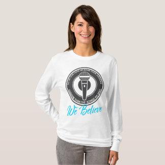 We Believe Women's Basic Long Sleeve T-Shirt