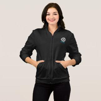We Believe Women's Dark Fleece Zip Jog Jacket