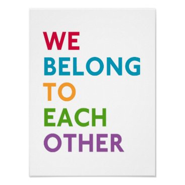 momastery We Belong To Each Other Momastery Print