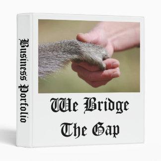 We Bridge The Gap 3 Ring Binder