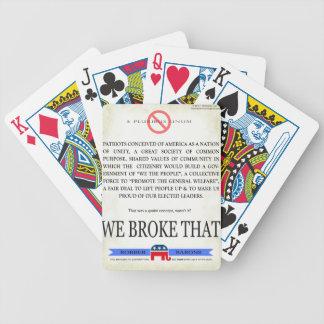 We BROKE that! Card Decks