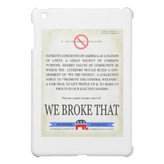 We BROKE that! iPad Mini Covers