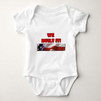 We Built It America Tshirts