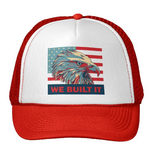 We Built It Republican Romney 2012 Trucker Hat
