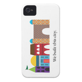 We Built This City iPhone 4 Cover