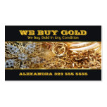 We Buy Gold Business Card Business Cards