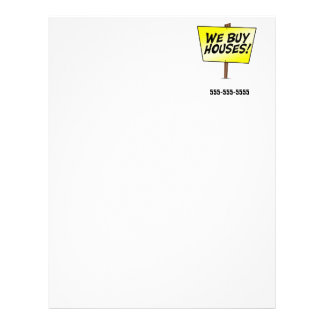 We by houses letterhead