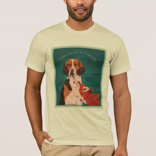 We Can All Be Friends AA tee creme