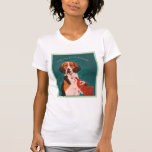 We Can All Be Friends ladies petite tee white
