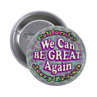 We Can BE GREAT Again. button