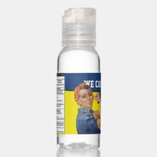 We Can Beat It Rosie the Riveter Hand Sanitizer
