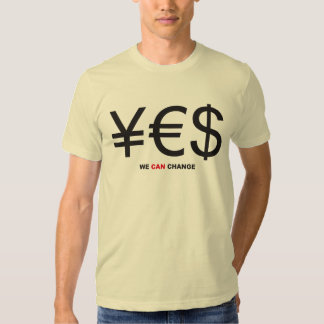 ¥€$ WE CAN CHANGE T-SHIRT
