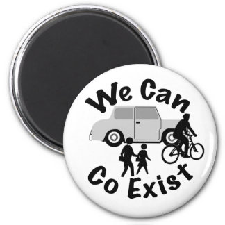 We Can Co Exist Magnet