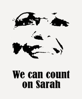 We can count on Sarah T-shirt