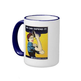 We Can Defend It Ringer Mug
