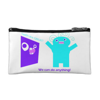 We can do anything (teeth are GREAT) Cosmetic Bag