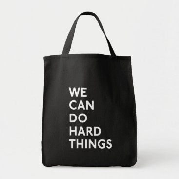 momastery We Can Do Hard Things Black Tote