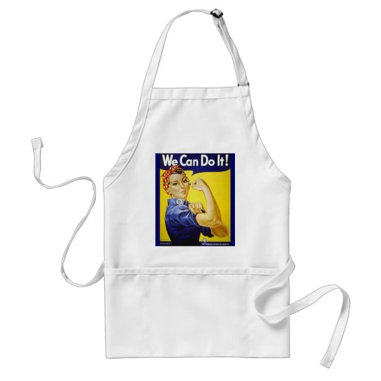 We Can Do It! Adult Apron