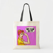 We CAN Do It! Budget Tote