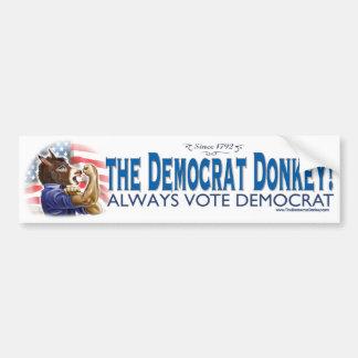 We Can Do It Donkey Bumper Sticker