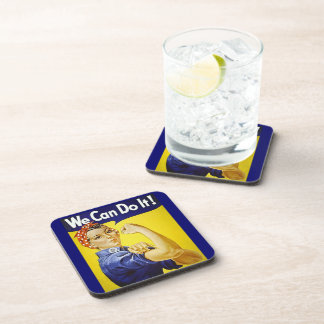 We Can Do It! Drink Coaster