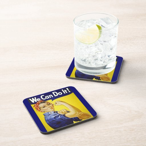 We Can Do It Drink Coasters
