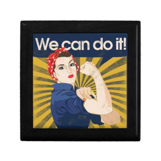 We can do it feminism trinket boxes