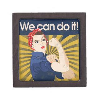 We can do it feminism premium jewelry box
