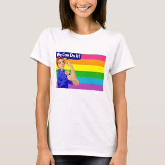 WE CAN DO IT (Gay Flag) T-Shirt