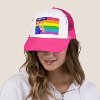 WE CAN DO IT (LGBT FLAG DESIGN) Trucker Hat
